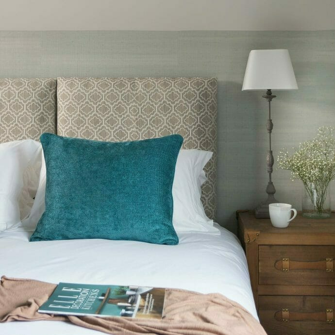 Colefax and Fowler Bespoke Headboard Holiday Home Furniture Packages