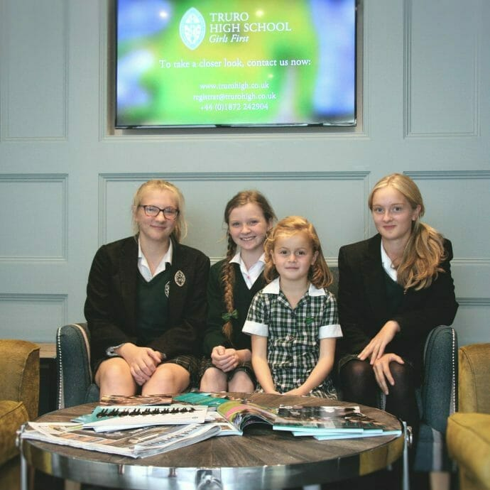 Truro High School for Girls Design Project Hops and Camellias