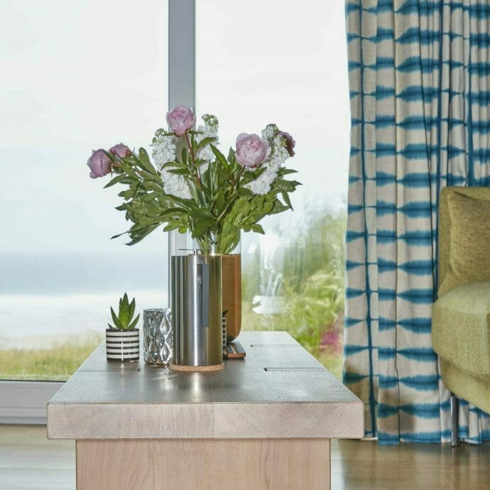 Mawgan Porth Beach House Refurbishment Hops and Camellias