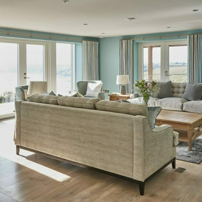 Living Room Interior Design in Cornwall