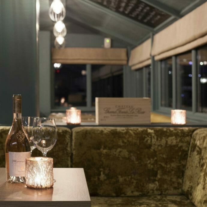 Hooked on the rocks restaurant interiors for Hops and Camellias Commercial Interior Design