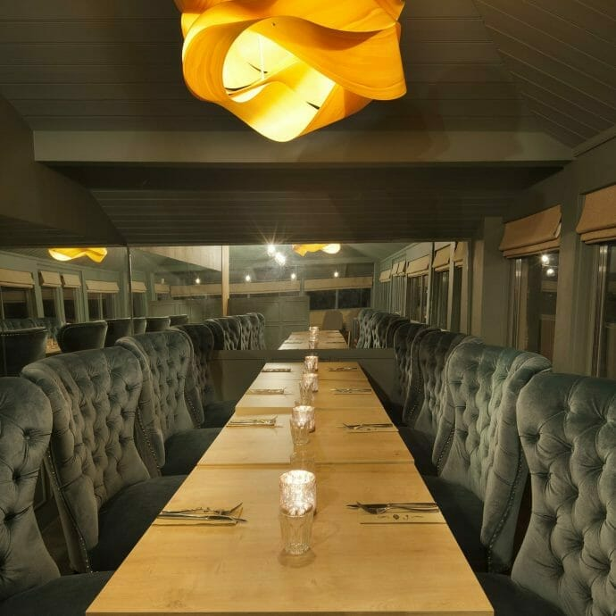 Hooked on the rocks restaurant interiors for Hops and Camellias Interior Design Furniture