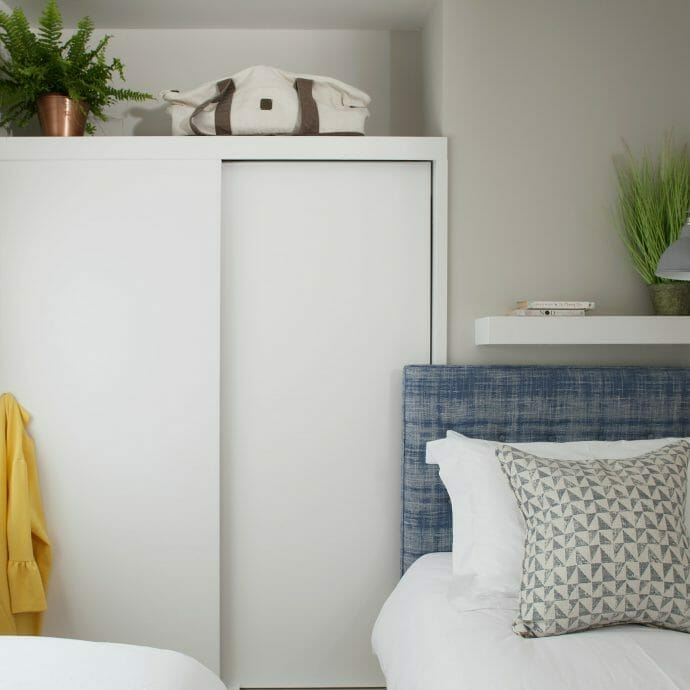 A neutral palette for small spaces