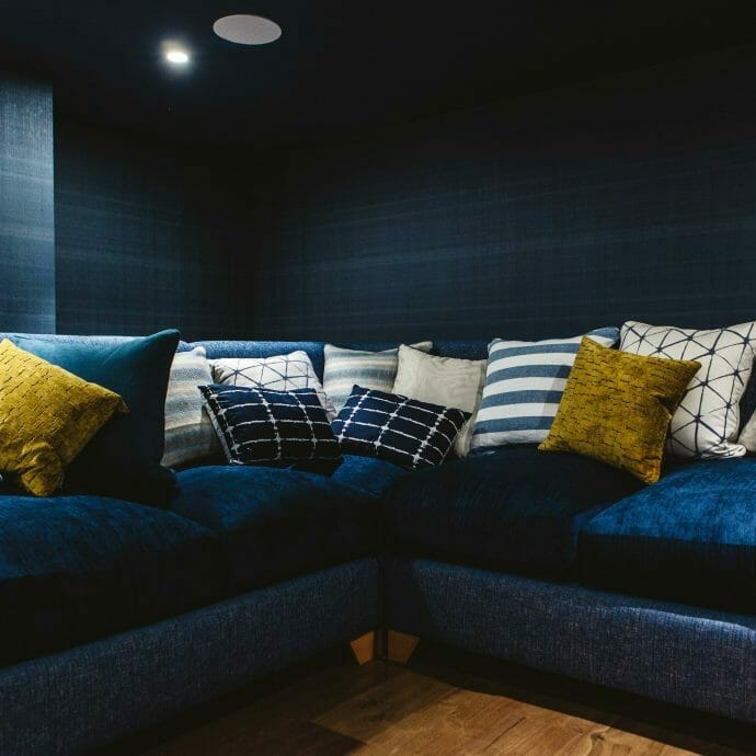 Creating dark and dramatic interiors