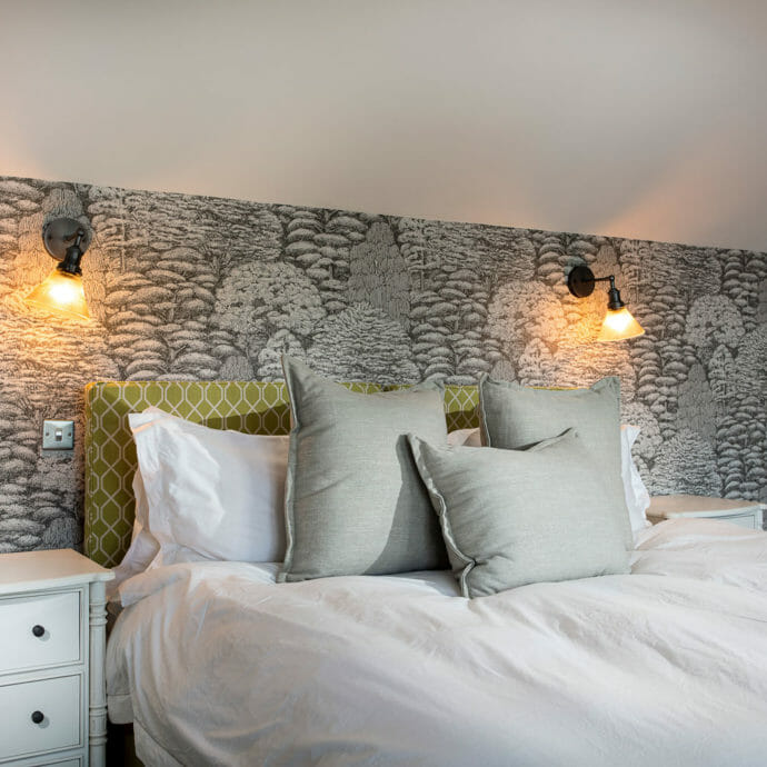 Bedroom Design Holiday Home Cornwall