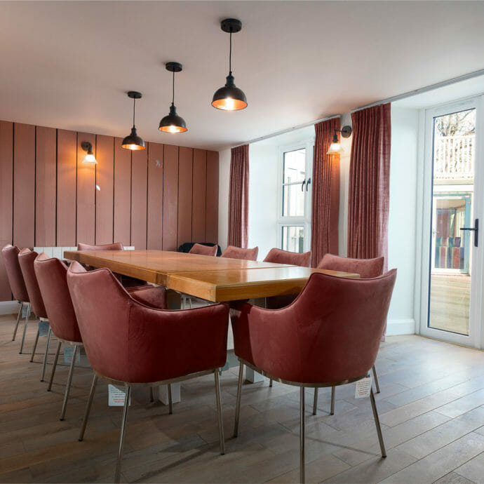 Carrick Court Dining Room Design