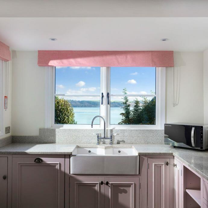 Kitchen Interior Coastal Home Cornwall
