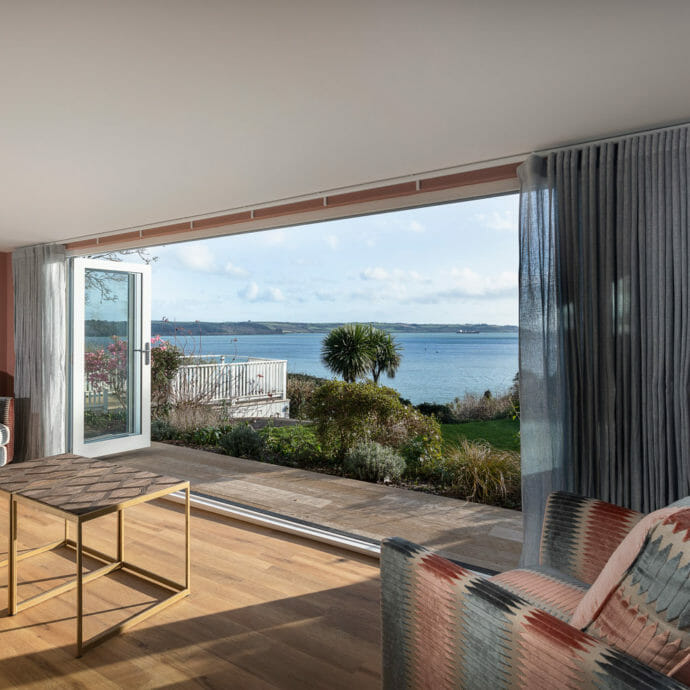 Living Room Design Coastal Home Cornwall